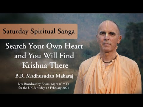 Search Your Own Heart And You Will Find Krishna There