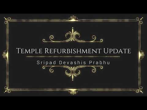 Temple Refurbishment Update