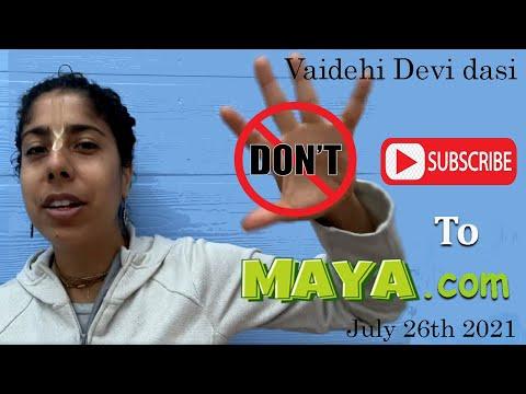 Don't Suscribe To Maya.com