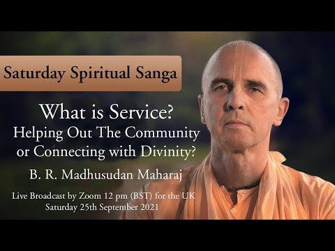 What is Service ?  helping Out The Community or Connecting with Divinity ?
