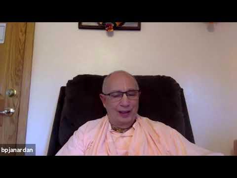 Sangha en línea con Srila Bhakti Pavan Janardan Maharaj