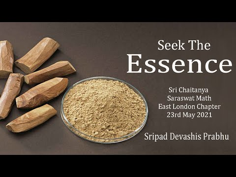 Seek The Essence