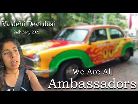We Are All Ambassadors