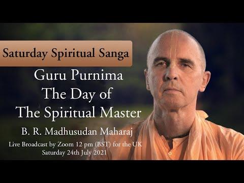 Guru Purnima – The Day of The Spiritual Master