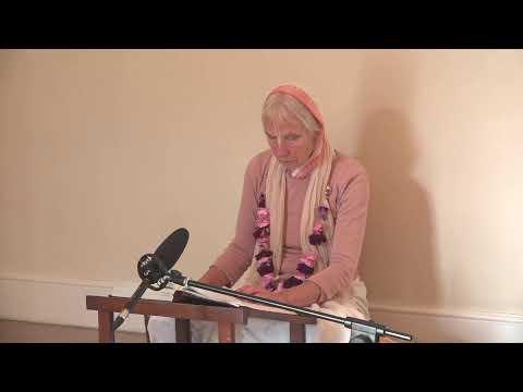 Morning Reading with Sachi Devi Dasi