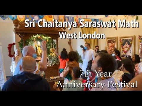 Sri Chaitanya Saraswat Math West London 7th Year Anniversary Festival (improved audio)